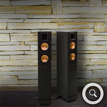hifi haus berlin lautsprecher standlautsprecher klipsch reference rf 42 ii test hifi. Black Bedroom Furniture Sets. Home Design Ideas